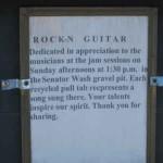 Rock 'n Guitar Plaque