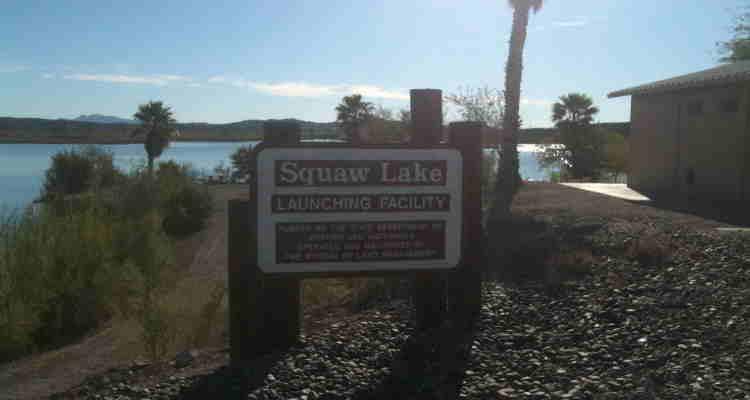 Imperial Dam LTVA: Squaw Lake Boat Ramp