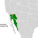 Imperial Dam LTVA - Sonoran Desert Map