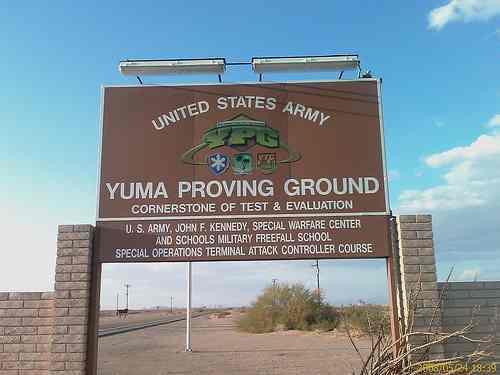Imperial Dam LTVA: Yuma Proving Grounds